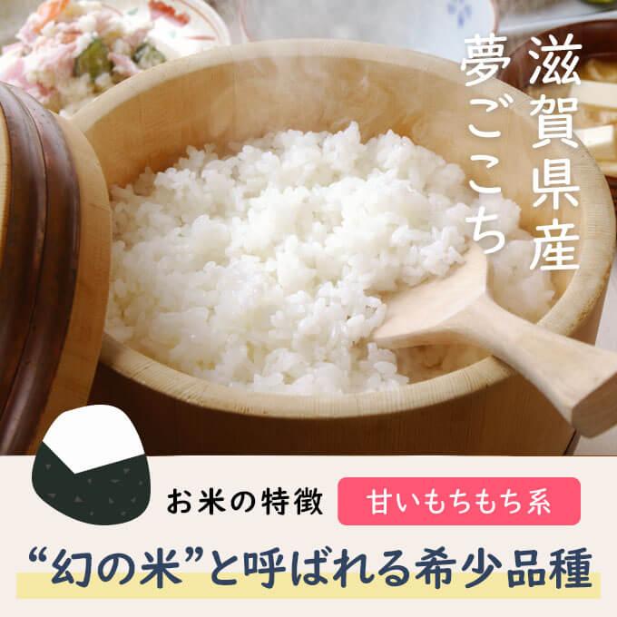進化したコシヒカリとも言われる幻のお米